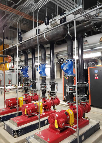 Mechanical Room, HVAC, Temperature Controls